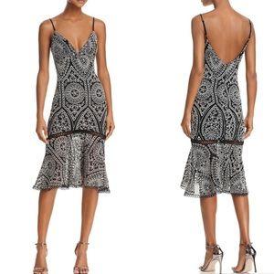 Karina Grimaldi - Diana Embroidered midi dress